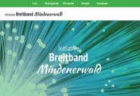 Die neue Website informiert zum Breitbandausbau in Mindenerwald
