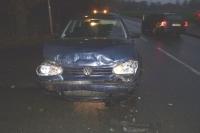 Autos nach Unfall schrott
